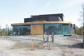 New theater rises at Mat Su College