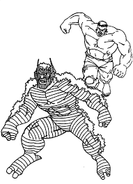 Scary MONSTER Colouring Pages
