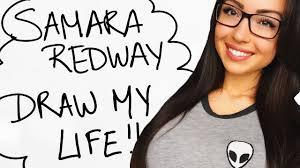 Samara 13 by Draw My Life Samara Redway Youtube