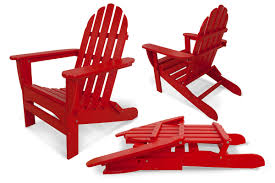 Living Accents Folding Adirondack Chair by Mhc Outdoor Living