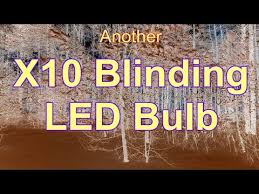 X10 Lamp Module Led by X10 Signal Eating Led Bulbs Youtube
