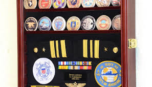 Coin Stand Challengecoinmedalspinsbadgesribbonsinsigniacombodisplaycasecabinet Stunning Challenge Unit Finest Display