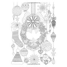 Adult Coloring Books The Magical World Of Christmas Designs Trees