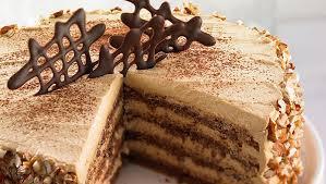 nougat torte mit walnüssen