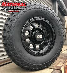100 Truck Rims And Tires Packages 18X9 XD Series 132 RG2 Mounted Up To A 305X70R18 Mickey Thompson ATZ