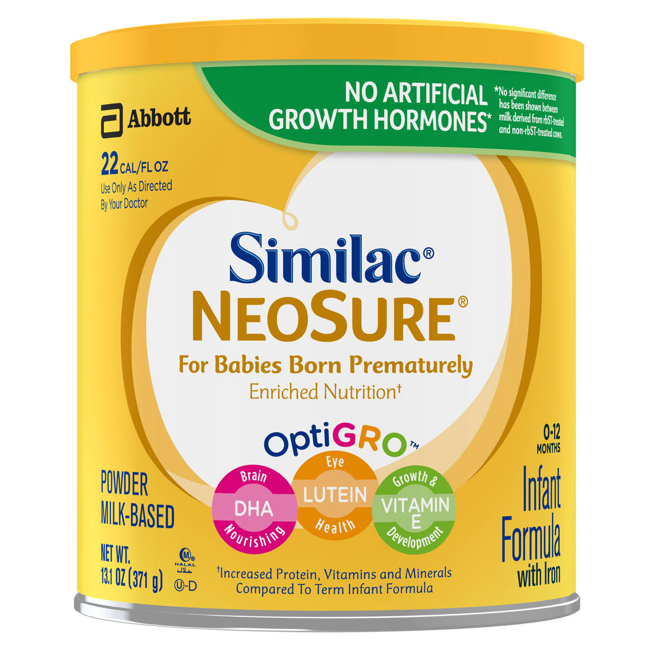 Abbott Similac NeoSure OptiGro Infant Formula Powder - 13.1oz