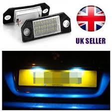 led number license plate lights l for ford focus c max mk1