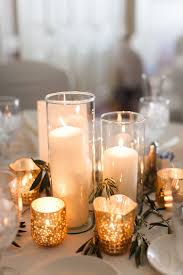 16 Glowing Romantic Candle Centerpieces
