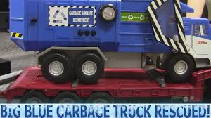 100 Garbage Truck Video Youtube Big Blue Needs Help YouTube
