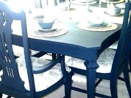 Chalk Paint Kitchen Table Painting My Dining Room Black Top K On