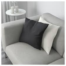 nockeby sofa right tenö dark gray with chaise wood ikea