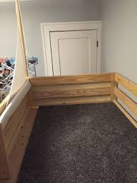 Kura Bed Weight Limit by Bunk Beds Ikea Mydal Stained 40 Cool Ikea Kura Bunk Bed Hacks