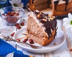 veganer haselnuss karamell creme kuchen danifitlifestyle