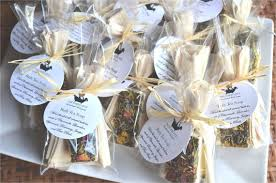 Rustic Wedding Favor Bridal Shower Favors Tea Party