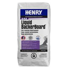 Home Depot Canada Floor Leveler by Henry 542 Liquid Backer Board 40 Lbs Self Leveling Underlayment