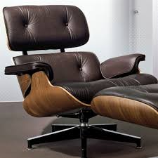 eames lounge chair and ottoman in the tall size by herman miller