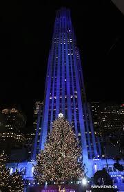 Rockefeller Christmas Tree Lighting 2017 by Christmas Tree Lighting Ceremony Held In Rockefeller Center In New