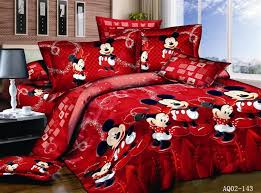 red mickey mouse comforter set promotion shop for promotional red