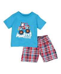 Teddy Boom Turquoise Monster Truck Tee Set - Infant & Toddler | Zulily Hgrey Truck Boys 3pc Pj Sleep Set Blaze And The Monster Machines Toddler 2fer Pajamas Official Dinotrux Trucks Carby Ty Rux Blue Pyjamas 4 To Jam Maxd Dare Devil Yellow Tshirt Tvs Toy Box 2pc Long Sleeve Pajama Just One Joe Boxer Flannel Maxomorra Romper Grave Digger 16 X Canvas Wall Art 2 Pairs Flannel Pajamas October 2018 Sale Amazoncom Little Big Christmas Car Cotton