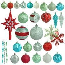 Martha Stewart Living Christmas Morning Shatter Resistant Ornament 100 Count H369