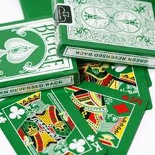 Bicycle Gaff Deck Uspcc by Bicycle Rider Back Green Deck With Gaff Cards For Magic Playing