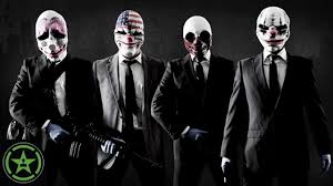 Payday 2 Halloween Masks Disappear by Achievement Hunter Live Stream Payday 2 Youtube