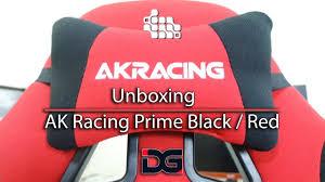 Akracing Gaming Chair Blackorange by Cadeira Gamer Unboxing E Montagem Da Ak Racing Prime Black Red