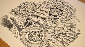 100 Design A Pirate Ship Tattoo Dark Graphics Graphic