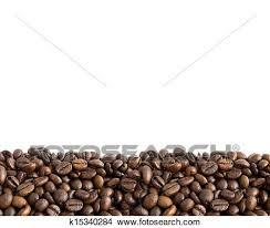 Stock Photo Of Coffee Beans Border 2 K15340284