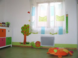 indogate chambre bebe garcon orange avec rideau pour chambre