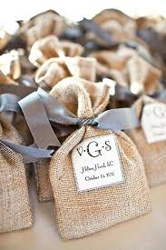 Rustic Themed Wedding Favors Stunning Burlap Bags Ideas About Favor On