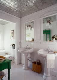tin ceiling bathroom home design