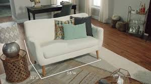 Leaf Studio Day Sofa Slipcover by Off White Tamera Love Seat World Market