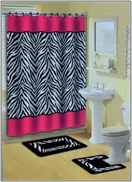 Pink Cheetah Print Bathroom Set by Pink Zebra Print Bathroom Set Home Interior Design