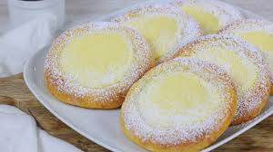 quark pudding teilchen cook bakery