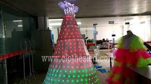 Fiber Optic Christmas Tree Philippines by Philippine Customer U0027s Order 3 Meters Tall Led Stilt Walker Dress