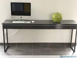bureau gris laqué meuble bureau gris laqué a vendre secondemain fr