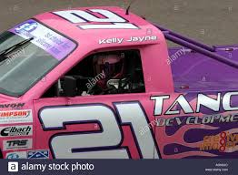 100 Kelly Car And Truck Jayne Wells In Her Racing Pick Up Truck Stock Photo 8141675