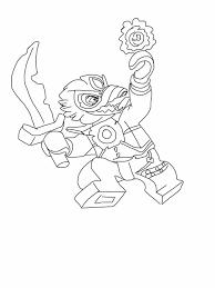 Lego Chima Coloring Page Raven