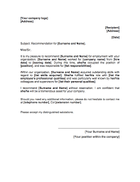 Personal Letter Of Recommendation Nursing Students Reference