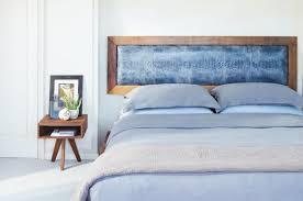 kopfteil für bett wird zur wanddeko im schlafzimmer