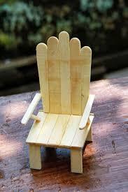 Ice Cream Stick Chair My Photos Diy Crafts