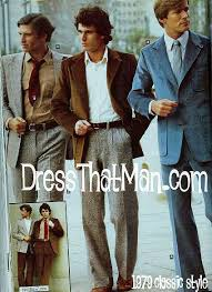 Mens Vintage Clothing Style 1979