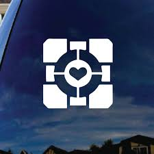Companion Heart Cube Car Truck Laptop Sticker Decal 5