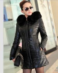 ladies leather coats and jackets