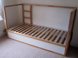 Kura Bed Instructions by White Ikea Visdalen Second Hand Beds And Bedding Buy And Sell