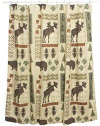 Amazon Park Designs Moose Shower Curtain Hooks Set of 12