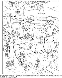 Beautiful Garden Coloring Pages 54 On Free Book With