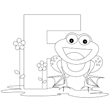 Letter F Coloring Pages To Download And Print For Free Page