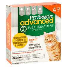 flea treatment for cats petarmor advanced 2 flea treatment for medium cats 5 9 lbs 0 0014